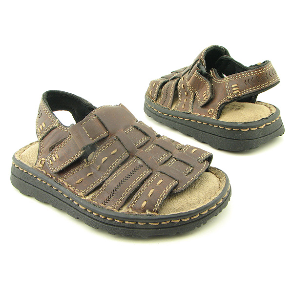 BEAVER CREEK C2718Y Sandals Shoes Brown Infants Baby Toddler
