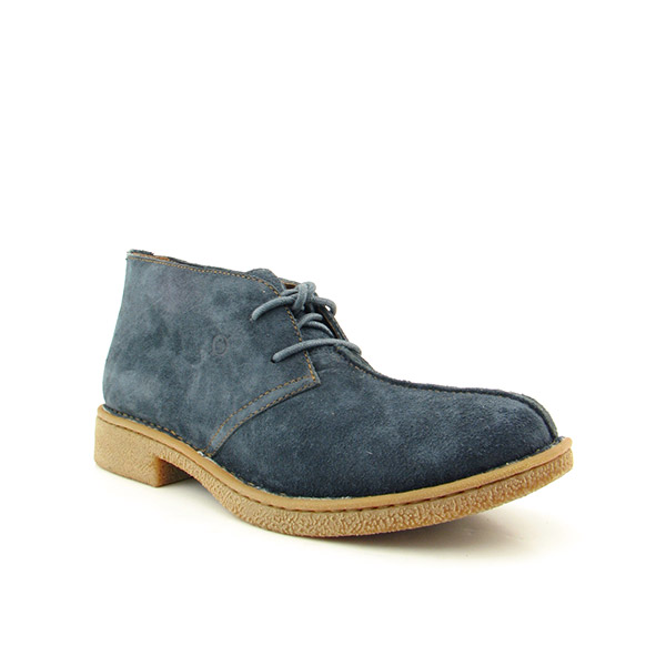 BORN Elvis Boots Casual Shoes Blue Mens