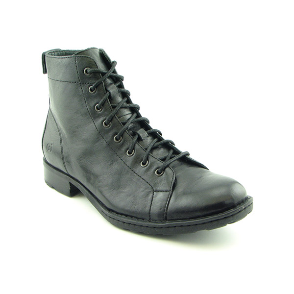 BORN Alfonso Boots Ankle Shoes Black Mens