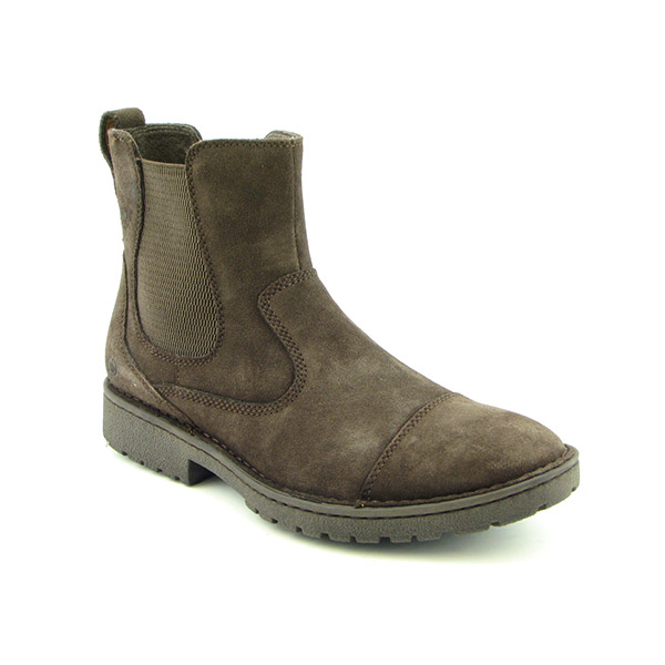 BORN Jacob Boots Ankle Shoes Brown Mens