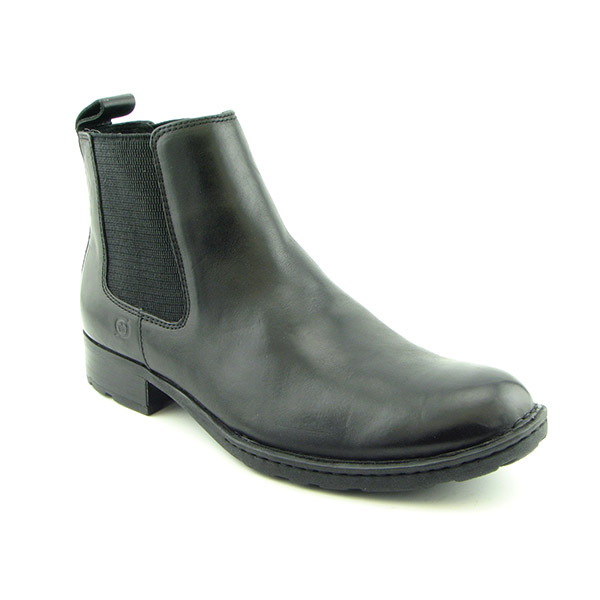 BORN Nash Boots Ankle Shoes Black Mens
