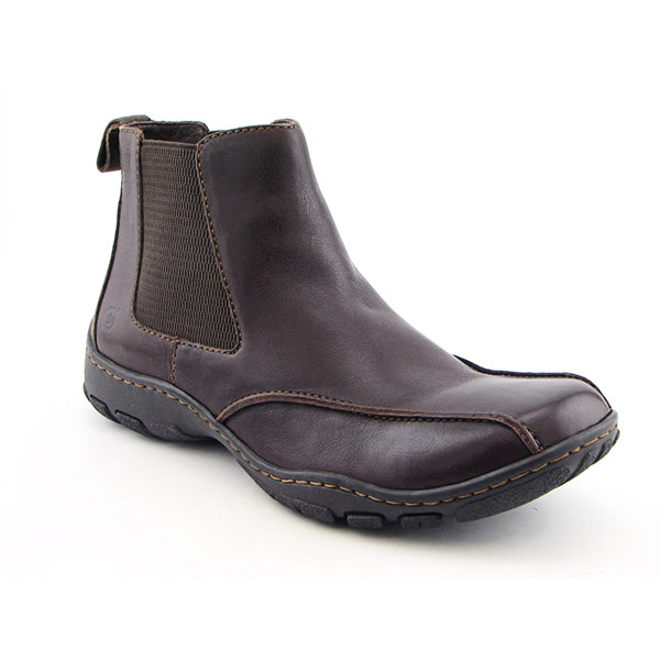 BORN Matthew Boots Ankle Shoes Brown Mens