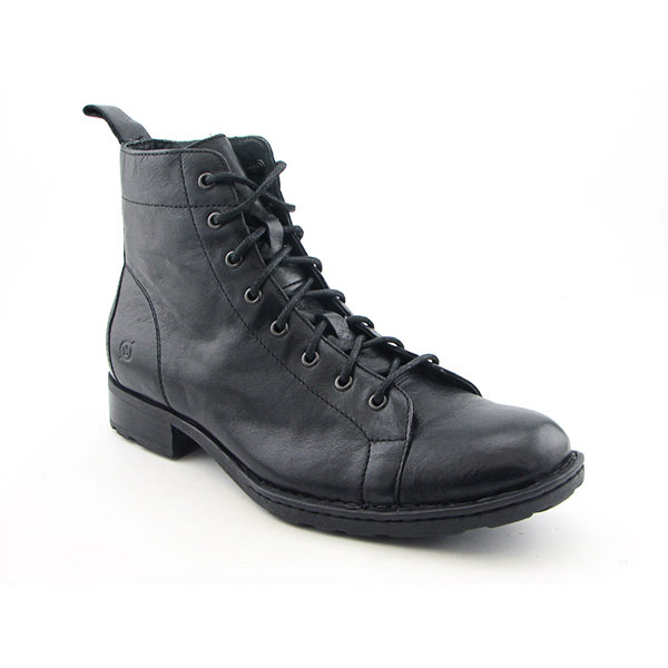 BORN Neil Boots Ankle Shoes Black Mens