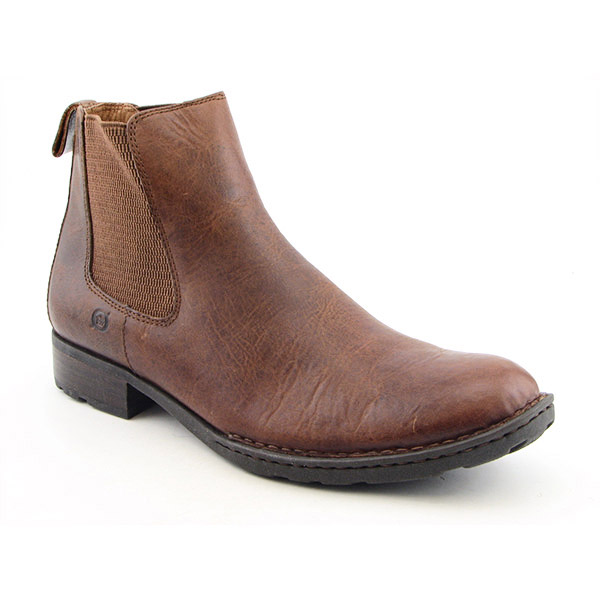 BORN Nash Boots Ankle Shoes Brown Mens