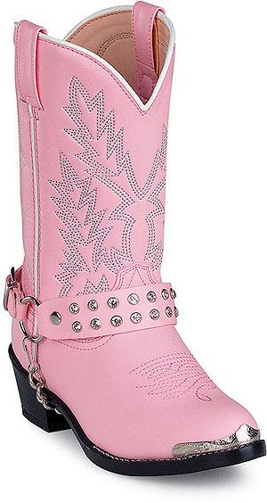 DURANGO-BT568-Boots-Cowboy-Shoe-Pink-Youth-Kid-Girls-SZ