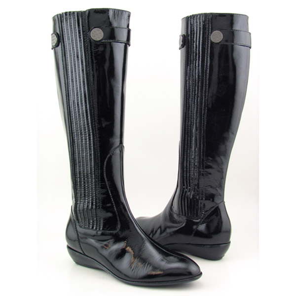 cole haan air reina tall boots black  colors and ordering info