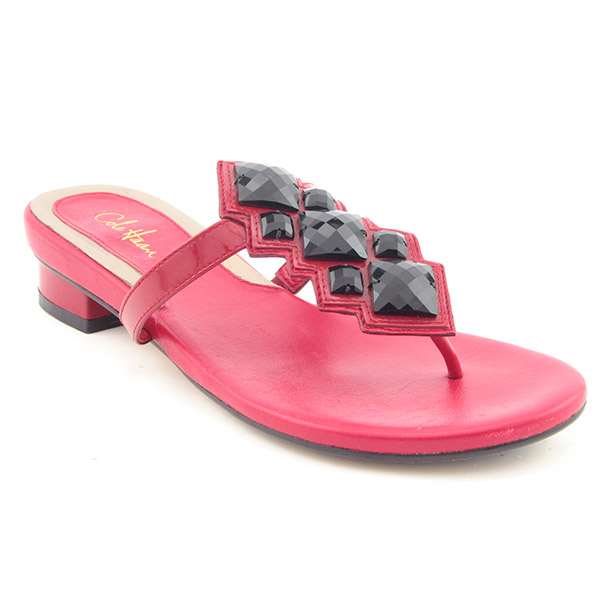 cole haan air camille thong flip flops red  colors and ordering info