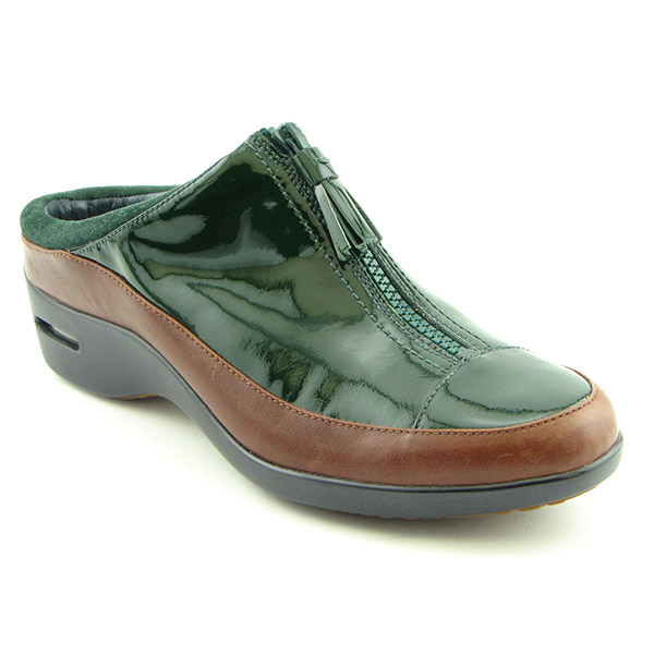 COLE HAAN Air Dorie Mules Shoes Green Womens