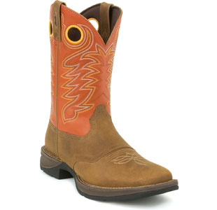 "DURANGO DB5438 11"" Rebel Boots Cowboy Shoe Brown Men SZ at Sears.com"