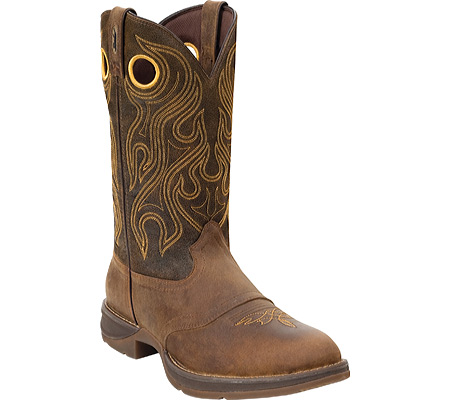 "DURANGO DB5468 12"" Rebel Boots Cowboy Shoe Brown Men SZ Wide at Sears.com"