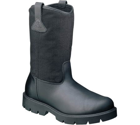 rocky 6300 10 quot wellington boots work pull on black ebay