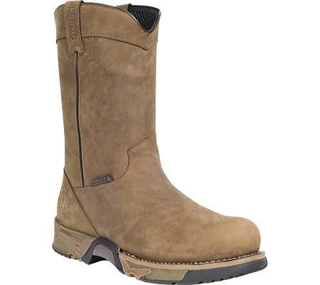 "ROCKY 6639 11"" Wellington Boots Work Shoes Brown Men SZ at Sears.com"
