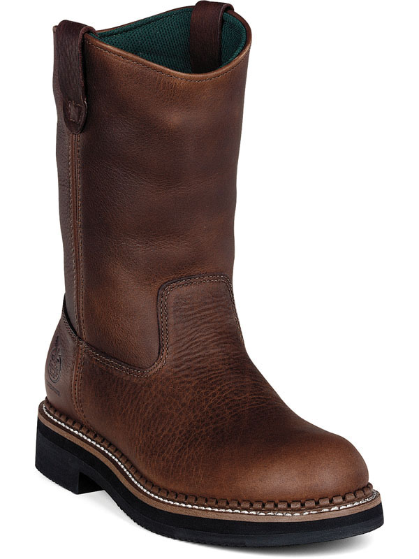 "GEORGIA G4254 12"" WP Wellington Boot Pull-on Brown Men Wide at Sears.com"