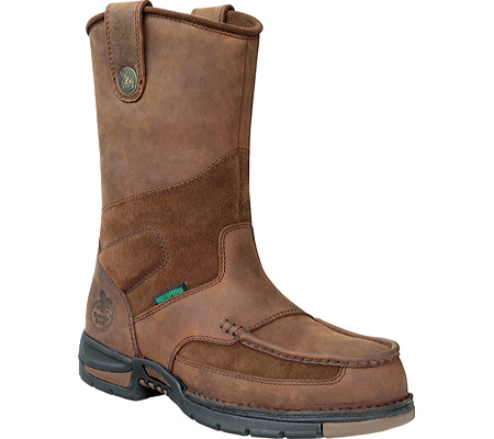 "GEORGIA G4603 10"" ST WP Athens Boot Pull-on Brown Men Wide at Sears.com"
