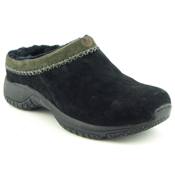 MERRELL Encore Chill Clogs Shoes Black Womens