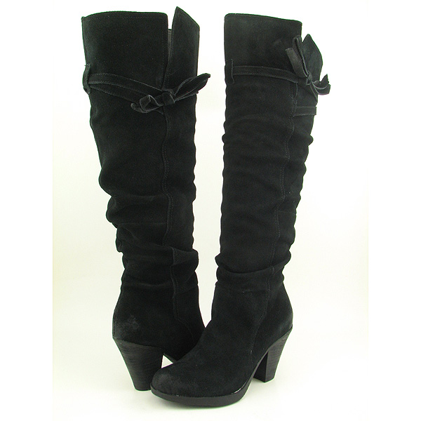 report lasara black boots shoes womens size 10