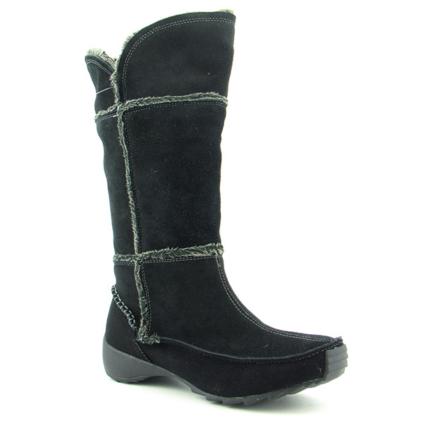 Post image for Sporto Patch Boots Knee Shoes Black Womens