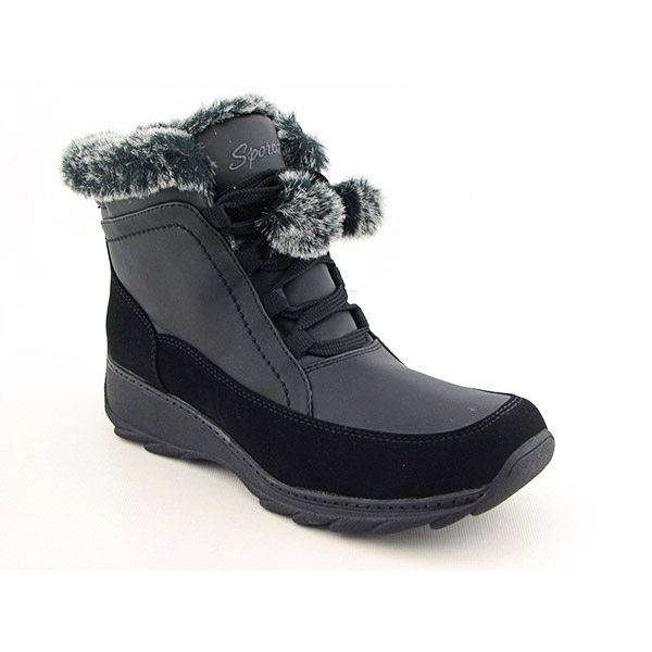 Post image for Sporto Snowflakes Boots Winter Shoes Black Womens