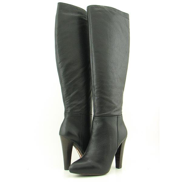 Steven Steve Madden Joss Black Boots Shoes Womens Sz 10