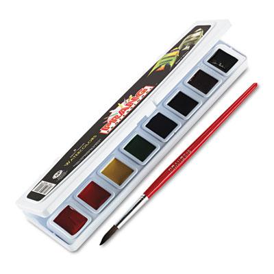 Dixon Ticonderoga Professional Watercolors, 8 Assorted Colors,Half Pans at Sears.com
