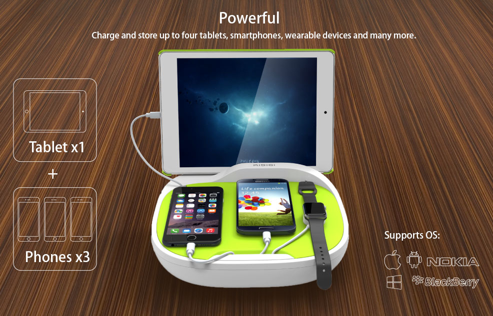 Family Charging Station hank family charging station universal charger for cell phone and