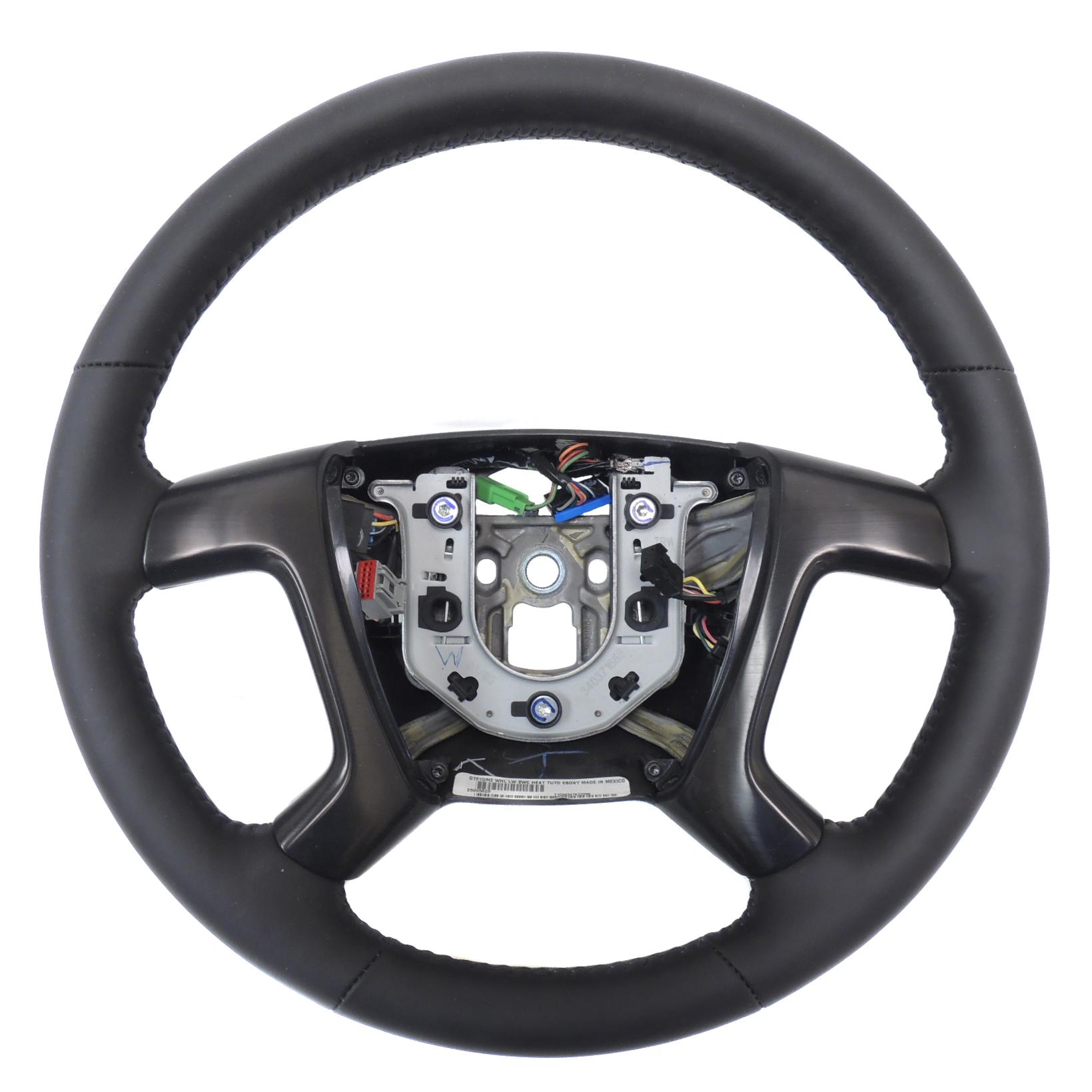 2009 hummer h2 black leather heated steering wheel w. Black Bedroom Furniture Sets. Home Design Ideas