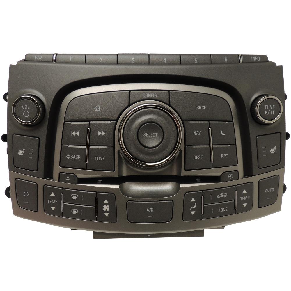 2013 Buick Lacross: 2013 Buick Lacrosse Navigation & HVAC Control Panel
