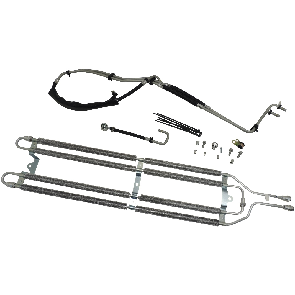 Rear Differential Cooler Kits : Cadillac cts v differential oil cooler package kit