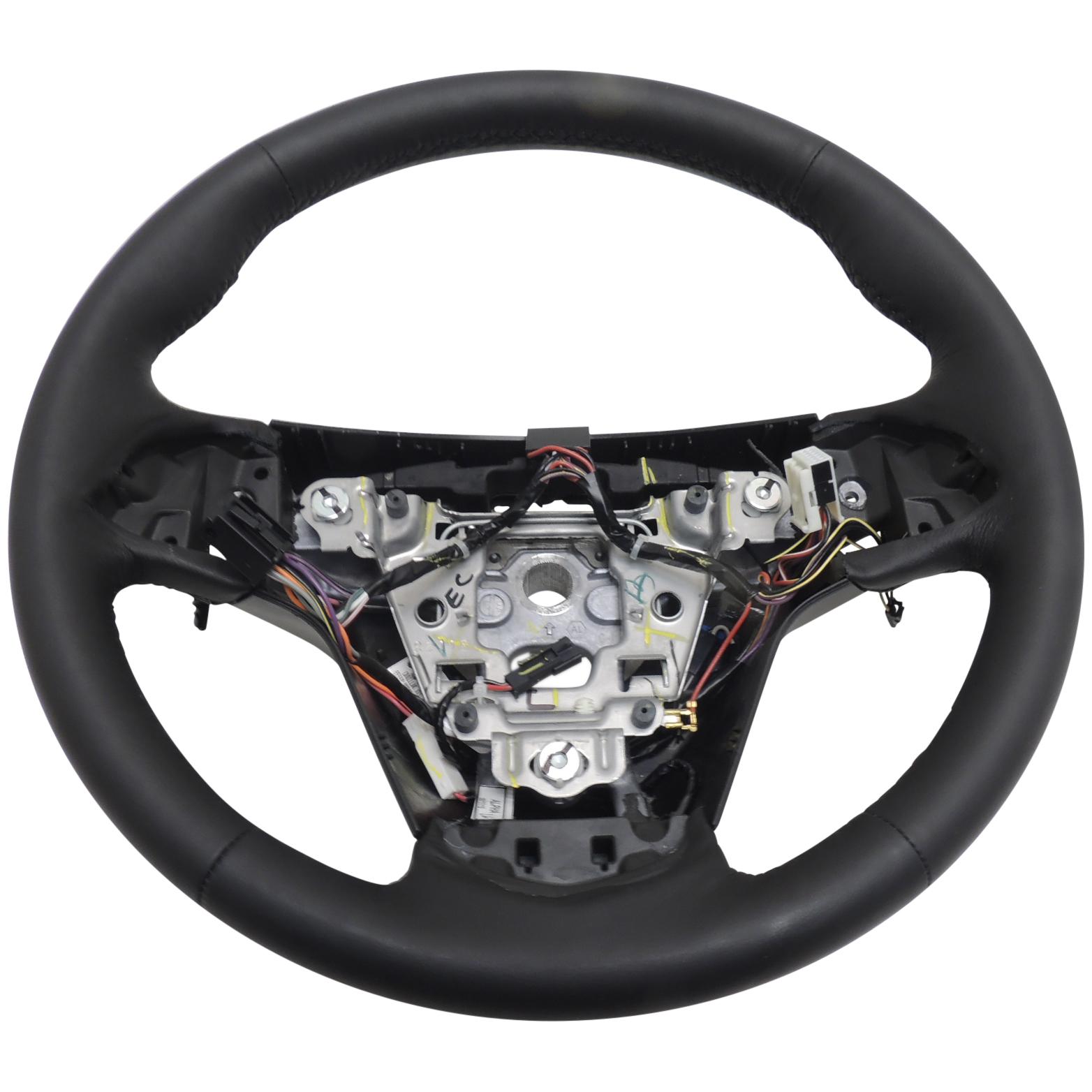 23360213 steering wheel black heated leather new oem gm. Black Bedroom Furniture Sets. Home Design Ideas