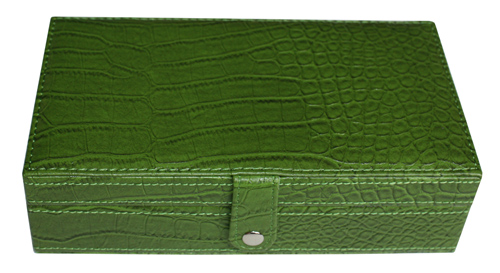 TIMELYBUYS 14 Day Green Croc Large Pill Box Weekly Travel Pill Case Pill Organizer Vitamins Storage Pills at Sears.com