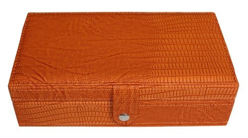 TIMELYBUYS 14 Day Orange Alligator Style Large Pill Box Weekly Travel Pill Case Pill Organizer Vitamins Storage Pills at Sears.com
