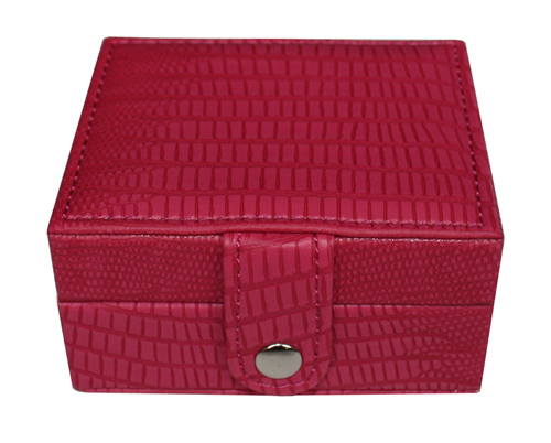 TIMELYBUYS 8 Day Pink Alligator Style Pill Box Weekly Pill Case Pill Organizer Vitamins Travel Storage Pills at Sears.com