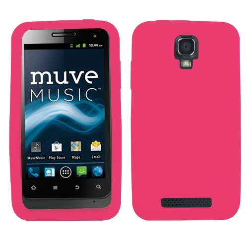Solid Silicone Skin Cover Case for ZTE Engage V8000