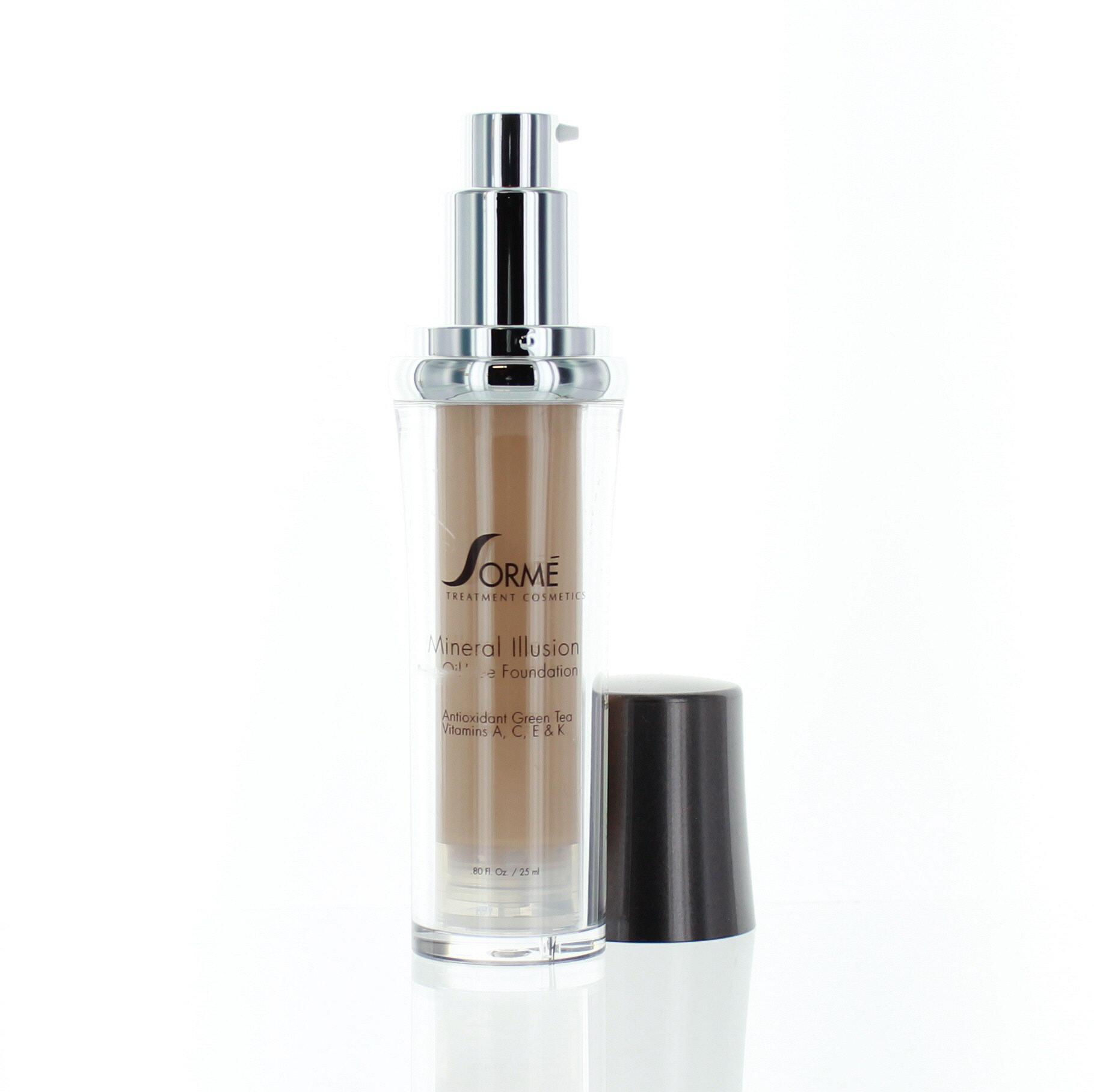 Sorme Cosmetics Natural Spf Mineral Illusion Foundation