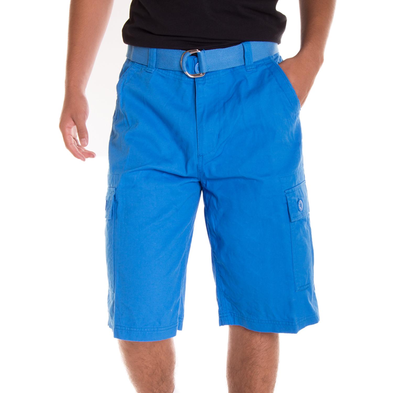 Alta Designer Fashion Men's Cargo Shorts, Twill Belt Included ...