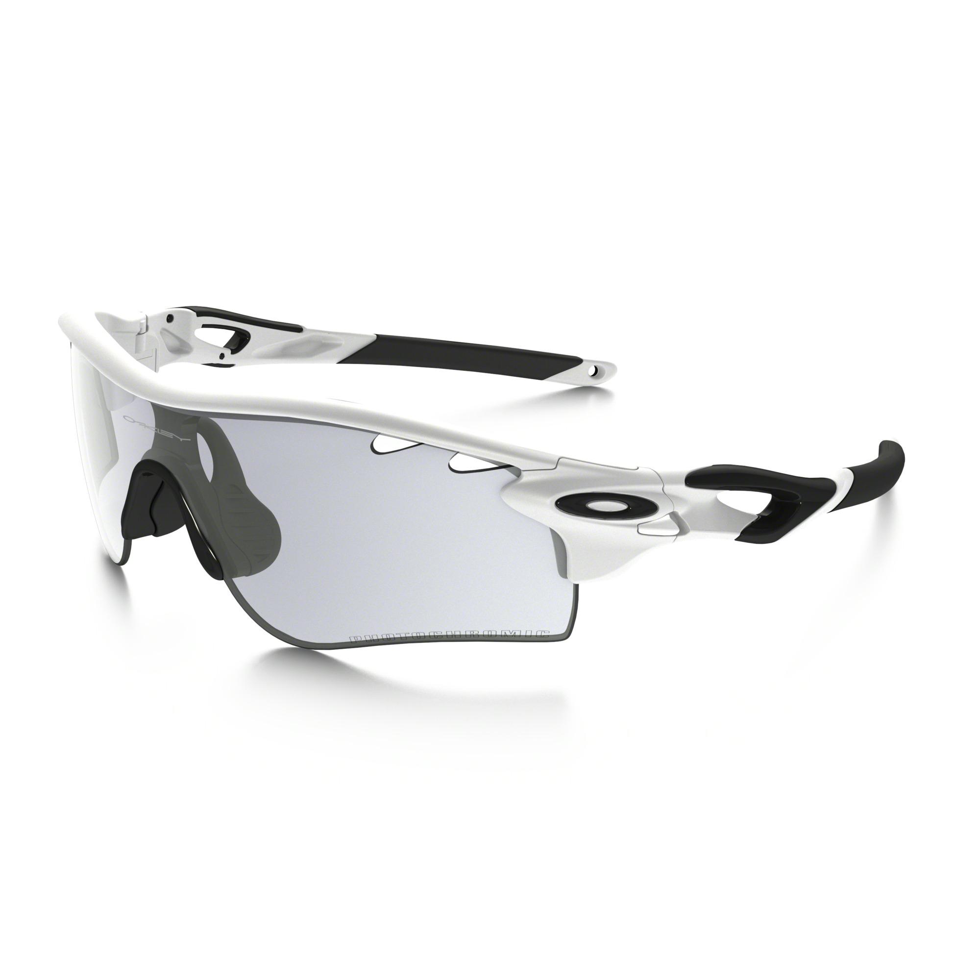 oakley radarlock path matte white sunglasses
