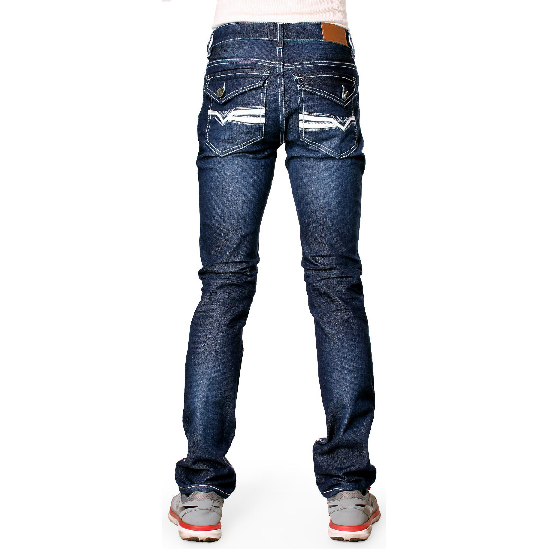 626 Denim Designer Fashion Mens Slim Fit Skinny Jeans - Multiple Styles
