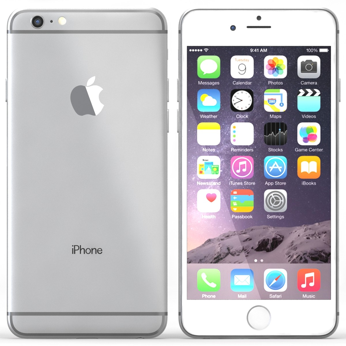 apple iphone 6 plus 16gb 5 5 display gsm unlocked cellphone brand new sealed ebay. Black Bedroom Furniture Sets. Home Design Ideas