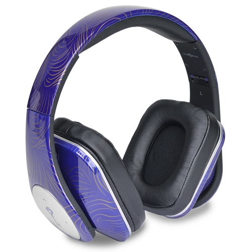 life n soul wireless bluetooth foldable over ear headphones bn350 ebay. Black Bedroom Furniture Sets. Home Design Ideas