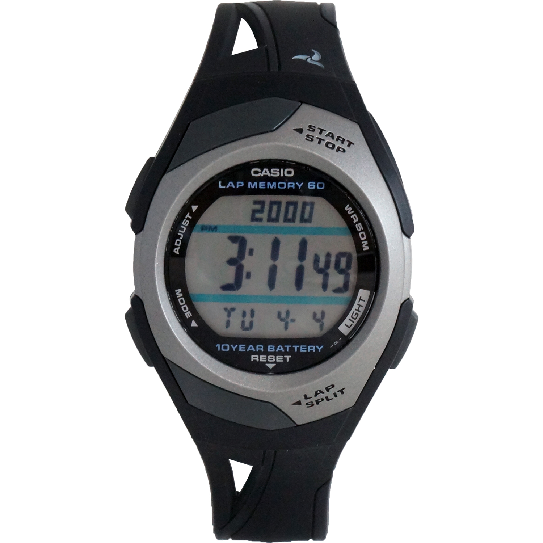 casio str300c 1v womens dual time 60 digital running