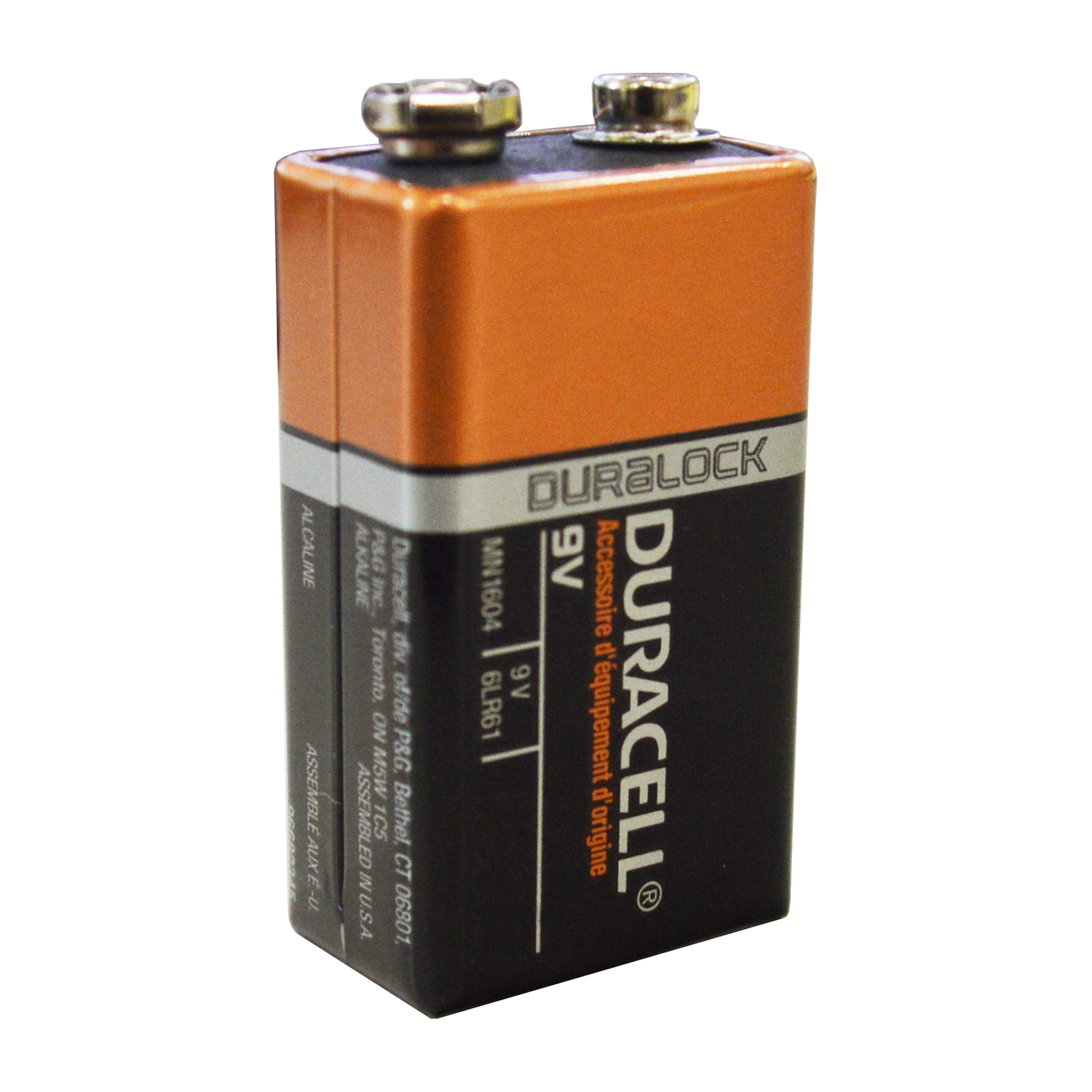 duracell mn1604 9v volt 6lr61 long lasting duralock coppertop alkaline batteries ebay. Black Bedroom Furniture Sets. Home Design Ideas
