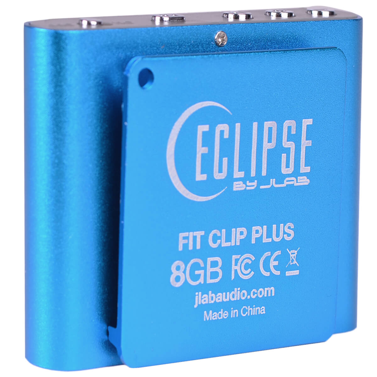 "Eclipse Fit Clip Plus 8GB 1.8/"" LCD MP3 Digital Music Video Player /& Pedometer"