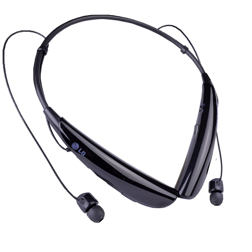 lg tone pro wireless bluetooth around the neck stereo earbuds headset w mic ebay. Black Bedroom Furniture Sets. Home Design Ideas