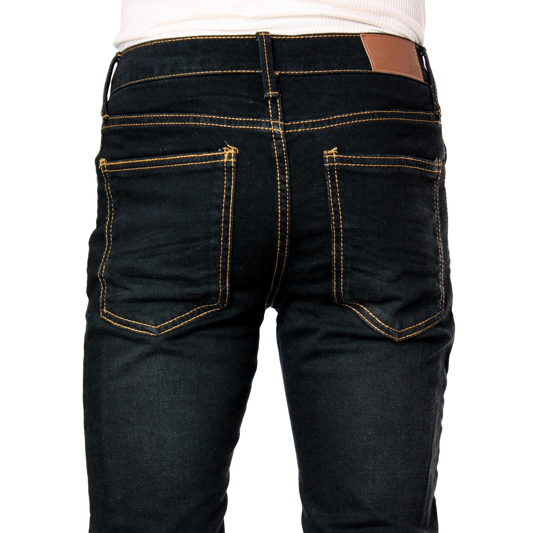 626 Denim Designer Fashion Mens Slim Fit Skinny Jeans - Multiple ...
