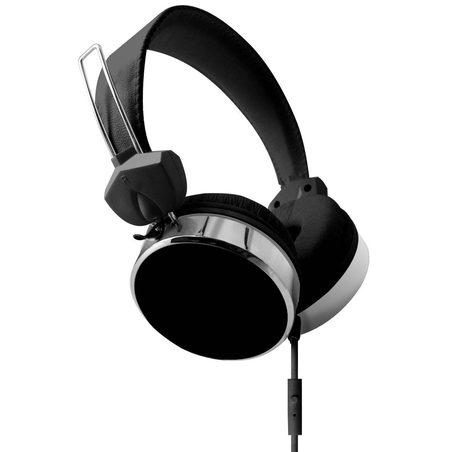 hype audio stereo eclipse performance headphones w inline mic answer control ebay. Black Bedroom Furniture Sets. Home Design Ideas