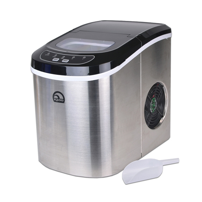Kitchen Countertop Ice Maker : ... Steel Portable Countertop Ice Maker w/ Ice Scoop - ICE105B eBay