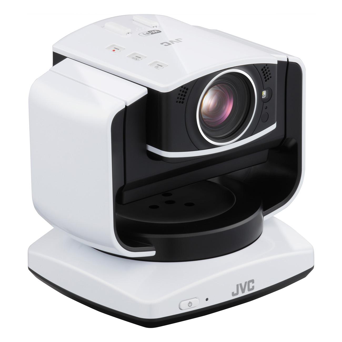 Jvc live streaming internet camera full hd ptz wifi lan sd for Camera streaming live