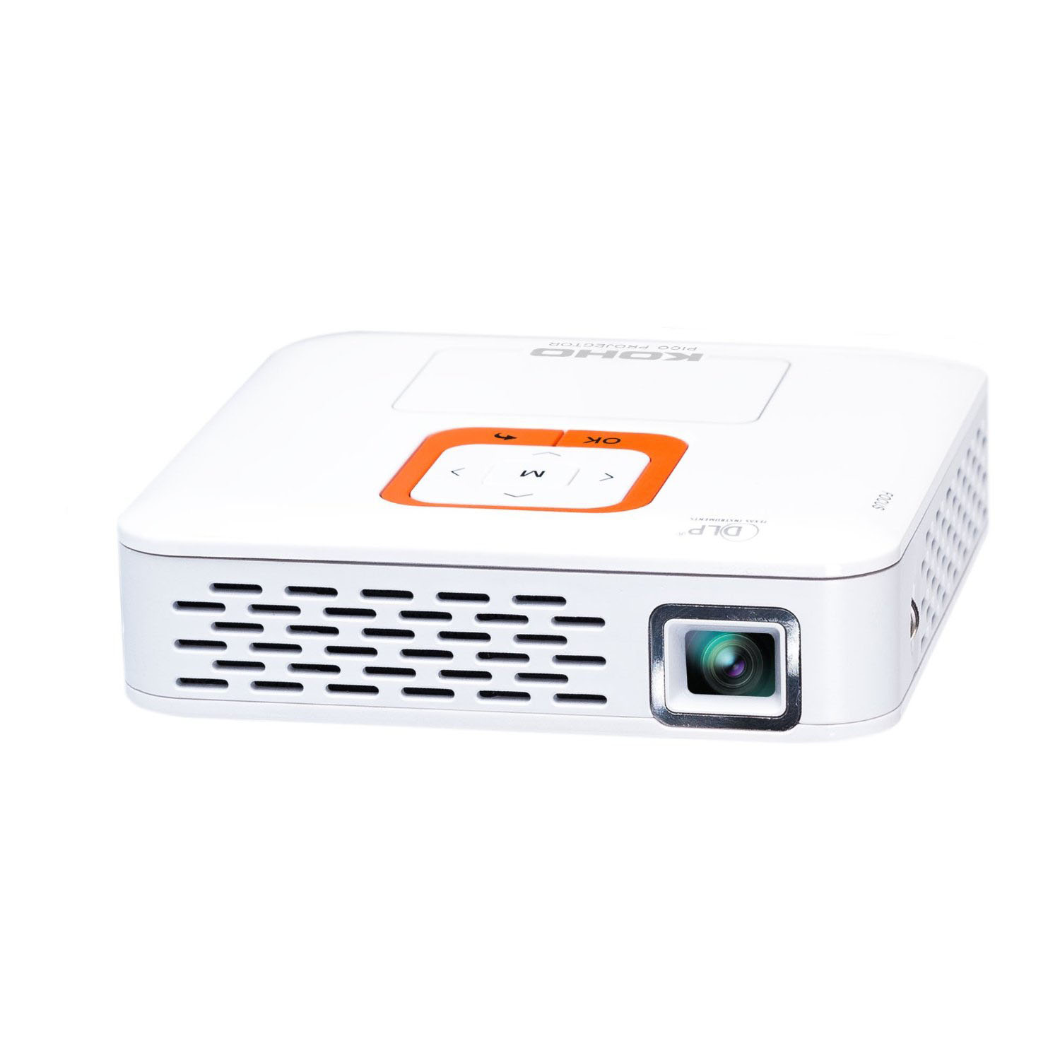 Koho kp100 rechargeable portable 2gb android projector for Apple portable projector