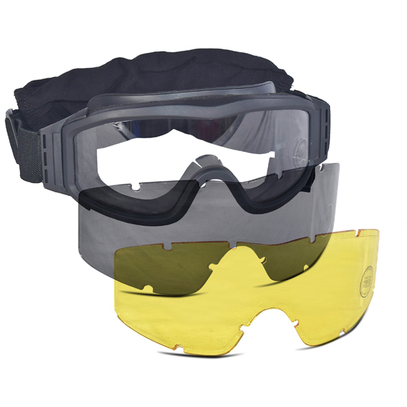 Airsoft Eye Protection Over Glasses