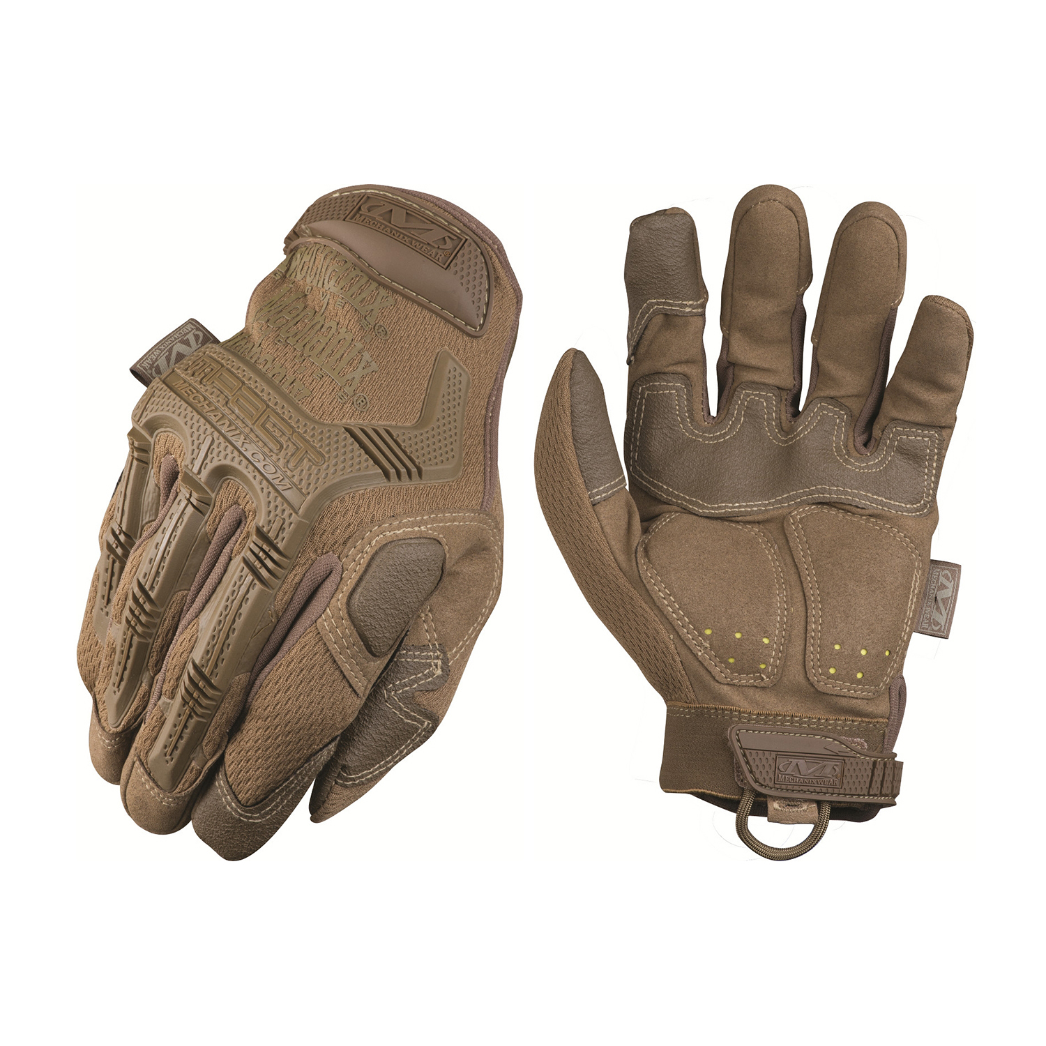 Leather work gloves ebay - Mechanix Wear M Pact Covert Work Duty Gloves